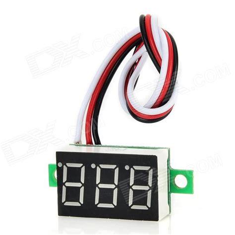 """DSN DVM 368L 3 3 Digit 0.36"""" LED Digital DC Voltmeter for"""