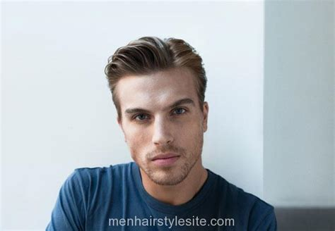 Coif Hairstyle by Mens Soft Side Part Coif Hair Hairstyle Hairstyles 2016