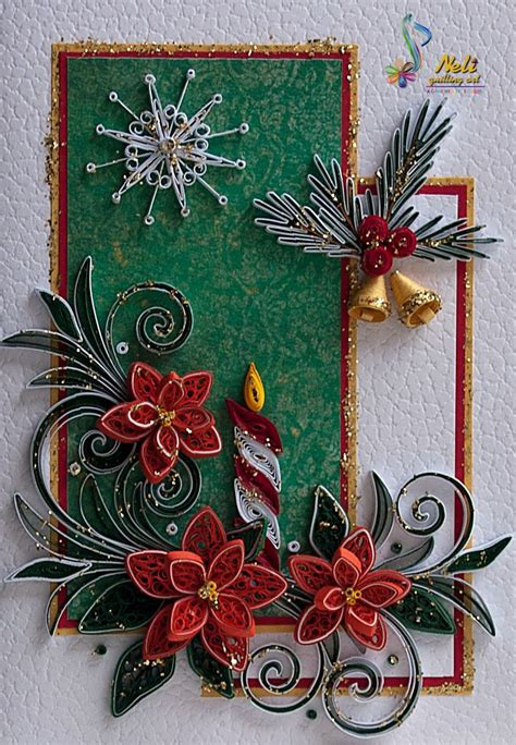 images christmas quilling neli quilling art preparation for christmas 7