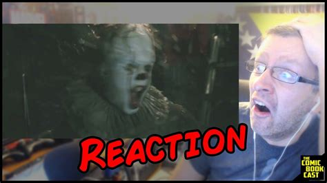 Or Trailer Reaction It Official Teaser Trailer Reaction