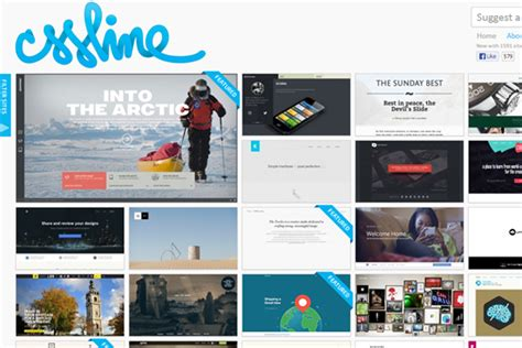 html layout gallery 35 online css design galleries to submit your web projects