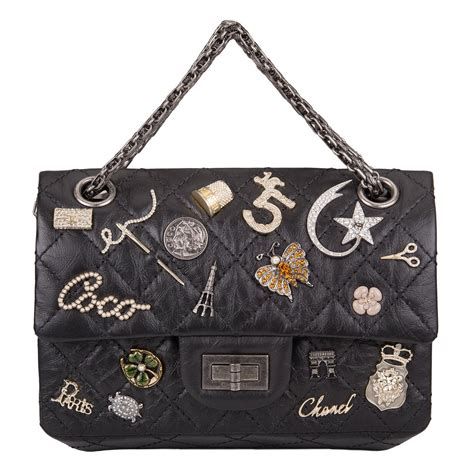 Lscgaa1008 Lucky Fashion Bag chanel black reissue 2 55 lucky charm bag at 1stdibs