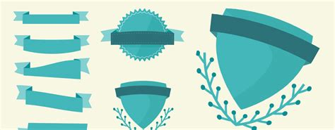 Vector Ribbon Tutorial Illustrator | layerform freebie vector ribbons and badges layerform