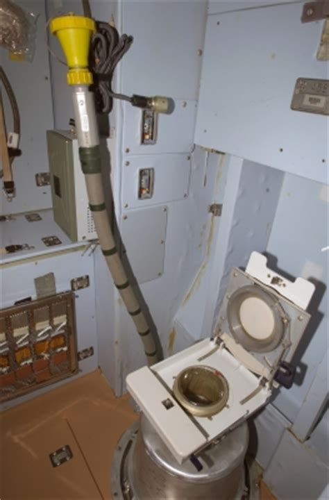 how do astronauts go to the bathroom in outer space space toilet wikipedia