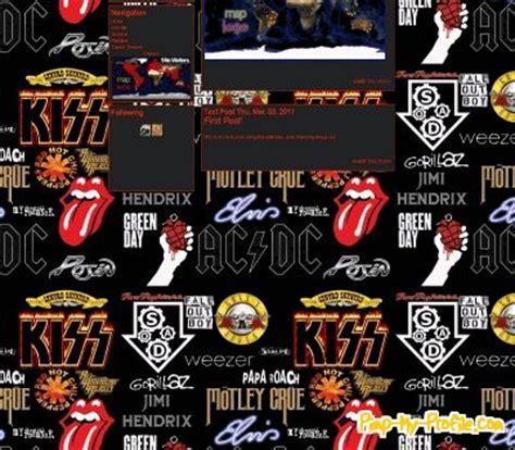tumblr themes free bands band logos tumblr themes pimp my profile com