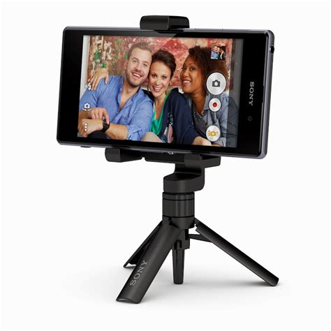 Tripod Xperia sony launches 21mp xperia z1 phone sleek smartwatch 2 and powerful lens attachments