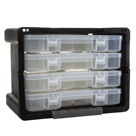 Plastic Drawer Organizer by Keter 4 Drawer Organizer Portable Handled Plastic