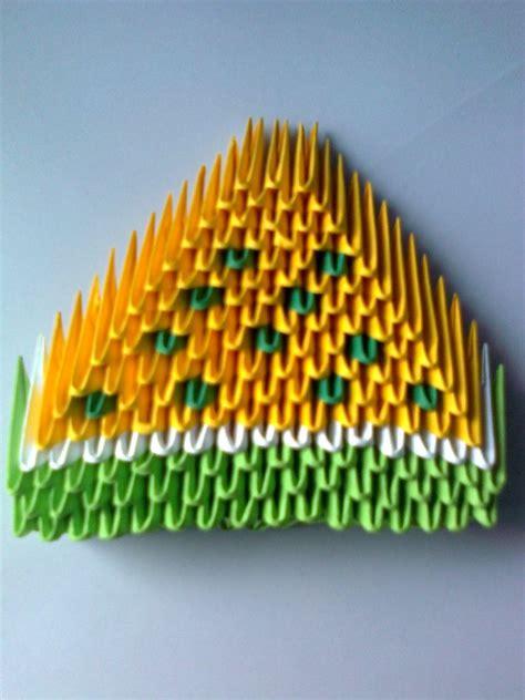3d origami banana tutorial origami yelow melon album lutzu 3d origami art