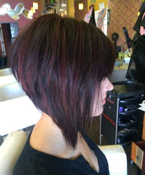 graduation bob hairstyle 20 best graduated bob hairstyles short hairstyles 2017