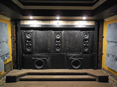 home theater acoustic treatment layout  north carolina