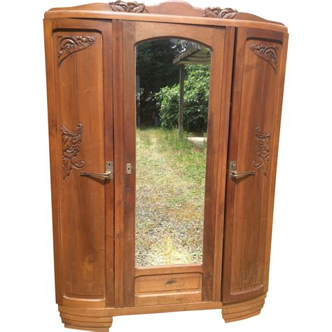 art nouveau armoire french art nouveau armoire from luxuryfrenchcollection on ruby lane