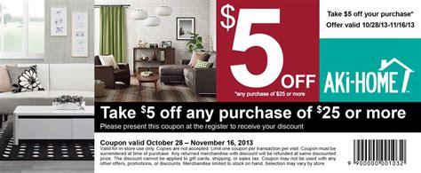 5 aki home coupon print coupon king