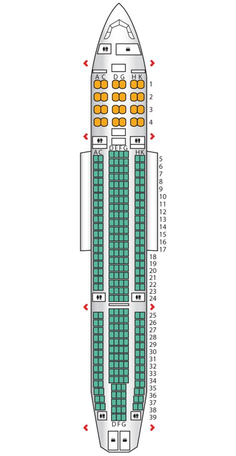 a332 seat map a330 200 hong kong airlines seat maps reviews