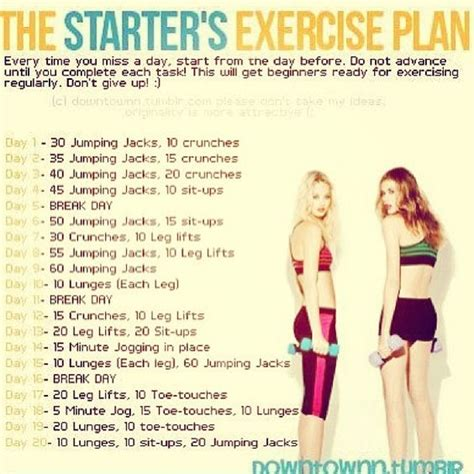 17 best ideas about easy beginner workouts on pinterest looking for a workout routine to challenge you and help