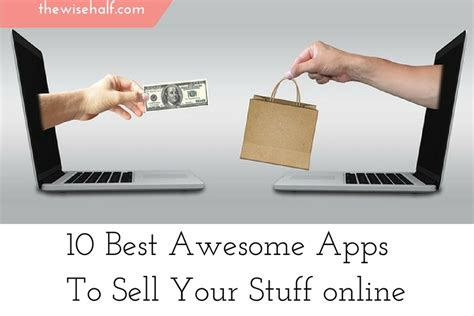 Make Money Selling Things Online - how to sell stuff online with these 10 awesome apps