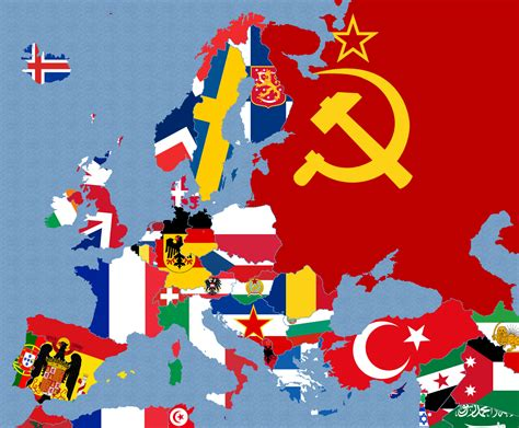 Flags Of The World Map Pins | europe flag map 1950 more pins like this at fosterginger