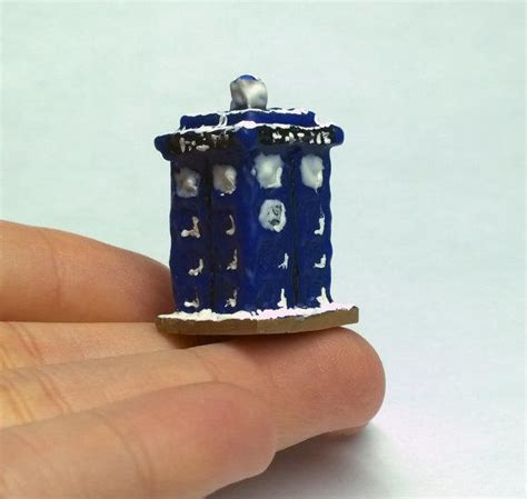 doctor who doll house tardis gingerbread house 1 12 scale from saramadecreations on
