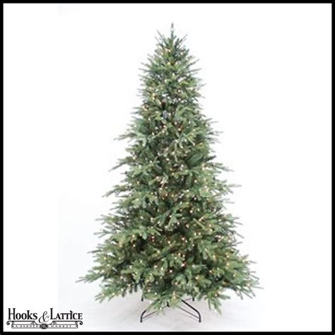 9 ft sugar spruce pre lit artificial christmas tree w