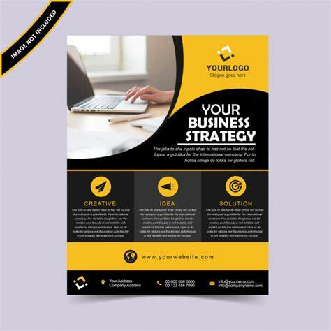 Creative Business Flyer Design Vector Premium Download Flyer Templates Vector