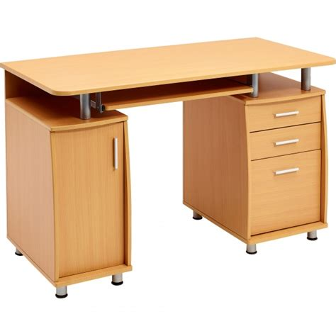 Computer Desk With File Drawer by Computer Desk With Storage A4 Filing Drawer Home Office