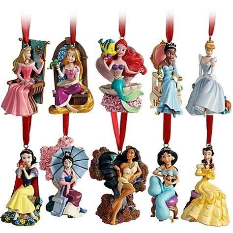 disney christmas tree little mermaid rapunzel jasmine