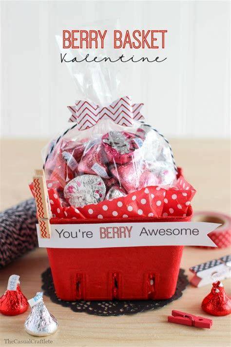 Things For Home Decoration by Berry Basket Valentine