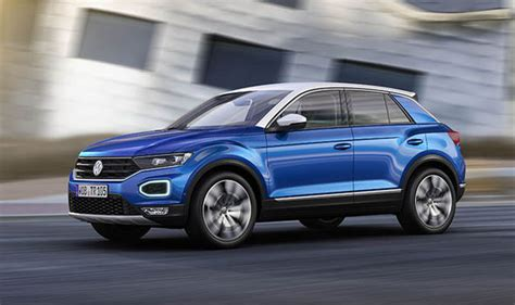 vw new suv 2017 vw t roc 2017 revealed new suv specs design and