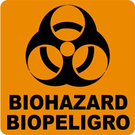 printable biohazard label bilingual biohazard label by safetysign com g5401