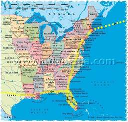 eastern us map east map usa my