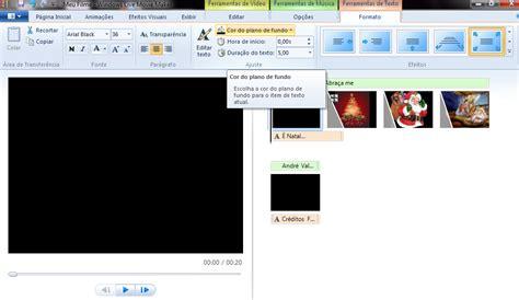 tutorial de como fazer video no windows movie maker como fazer creditos no windows movie maker creditosicksen