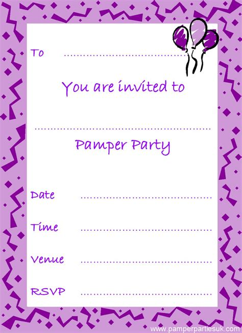 printable invitation party printable halloween birthday party invites