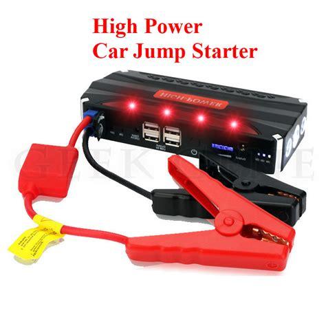 Multi Function Car Jump Starter A8 Power Bank 13800mah aliexpress buy new high power 68800mah 12v multi function car jump starter poratble 4usb