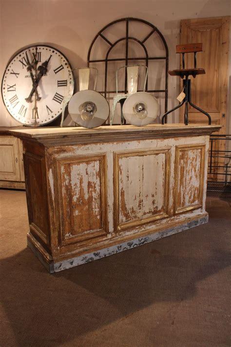 comptoir bar ancien mobilier industriel ancien comptoir de commerce deco