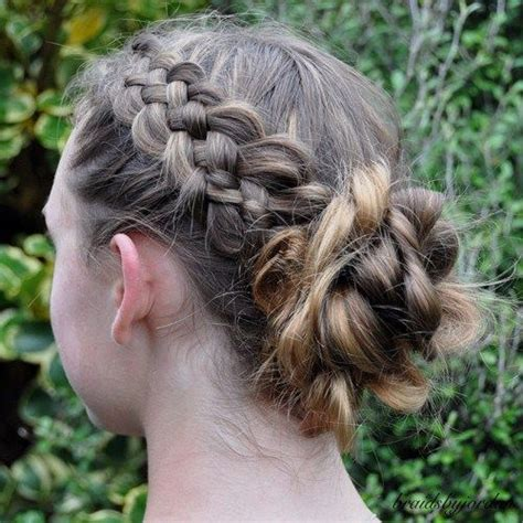 teenage hairstyles buns 22 pretty braided hair ideas for teenage girls messy