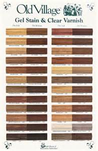 minwax color chart minwax gel stain colors chart images
