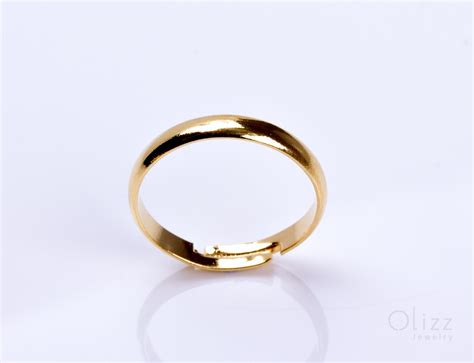 engagement gold ring gold adjustable ring pallas