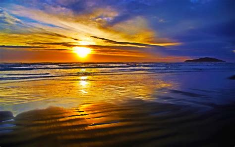 ocean sunset wallpapers images  pictures backgrounds