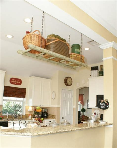 Suspended Ceiling Storage kitchen storage solutions modern magazin