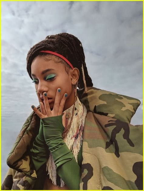 girlgaze how girls see 0847860892 willow smith is girlgaze zine s new cover see the pics photo 3991130 magazine