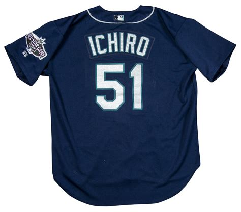 Ichiro Suzuki Seattle Mariners Jersey Lot Detail 2001 Ichiro Suzuki Rookie Used Seattle