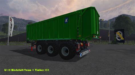 Ls 15 Werkstatt Mod by Ls 15 Kr 246 Ger Taw 30 V 1 0 Tridem Mod F 252 R