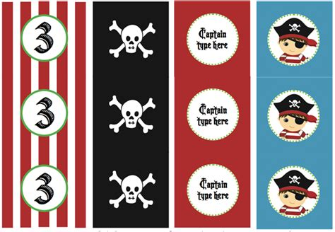 printable pirate party decorations kids birthday party ideas with free printables