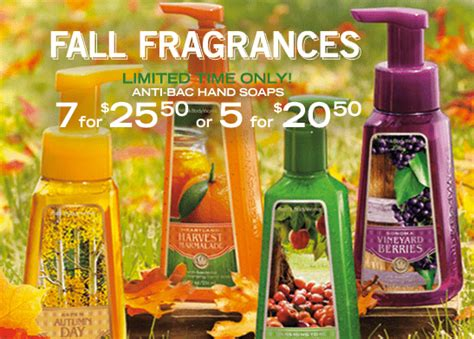bathtub deals bath body works canada deals anti bacterial soaps 7 for 25 50 in store canadian
