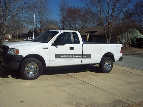 Ford 4 Door Truck by 2008 Ford F 150 4x4 Xl Extended Cab 4 Door 4 6l