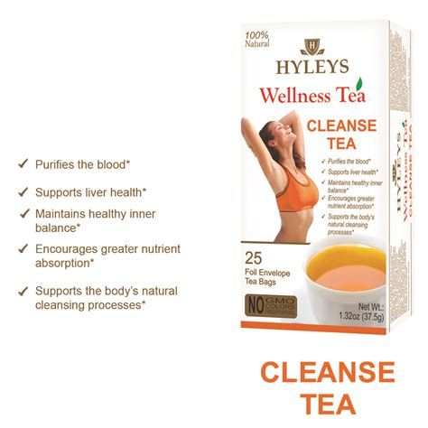 Wellness Detox by Hyleys Cleanse Tea Wellness Liver Health