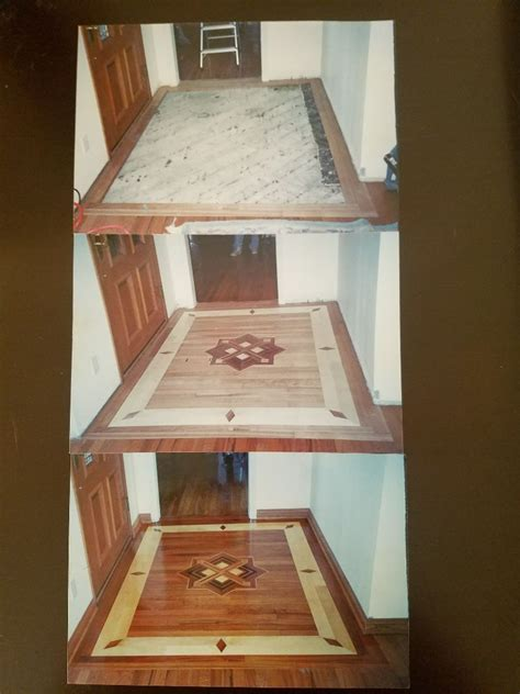 customize design   front door entry international wood flooring mix  called