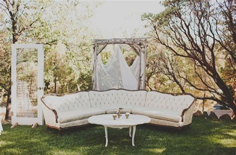 Wedding Sofa Rental raiding gatsby s attic weddingbee