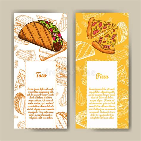 Corporate Menu Card Template by Cafe Menu With Design Fast Food Restaurant