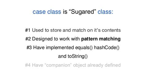 scala pattern matching condition scala for curious