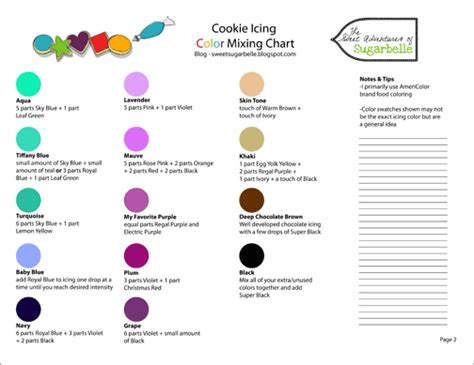 what colors make purple color chart and printing help the sweet adventures of